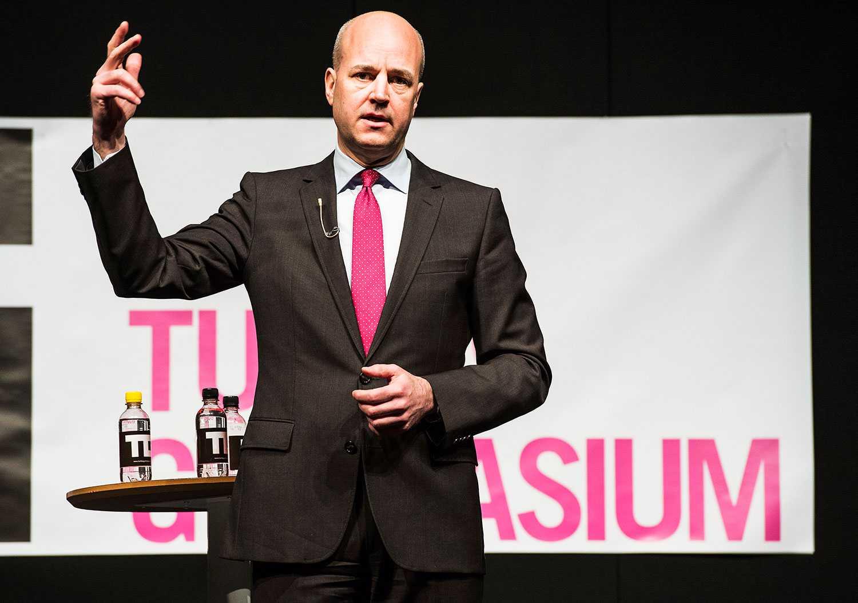 Fredrik Reinfeldt.
