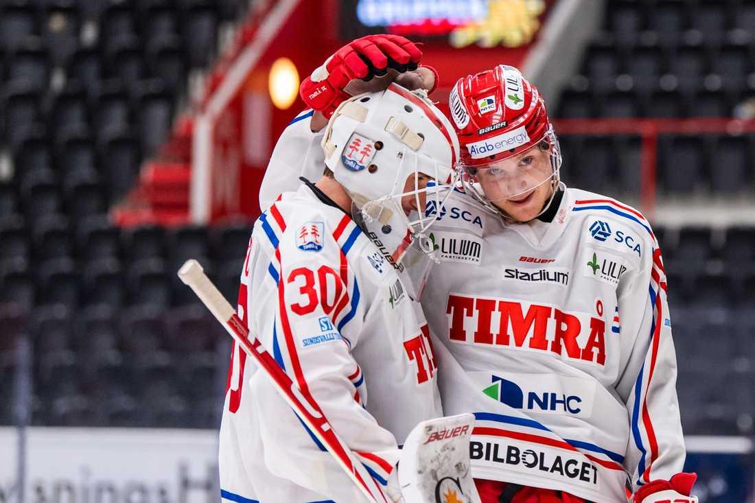 Jacob Johansson och Sebastian Hartmann.