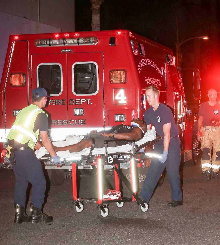 Mannen som Bieber körde på skadades dock inte allvarligt.
