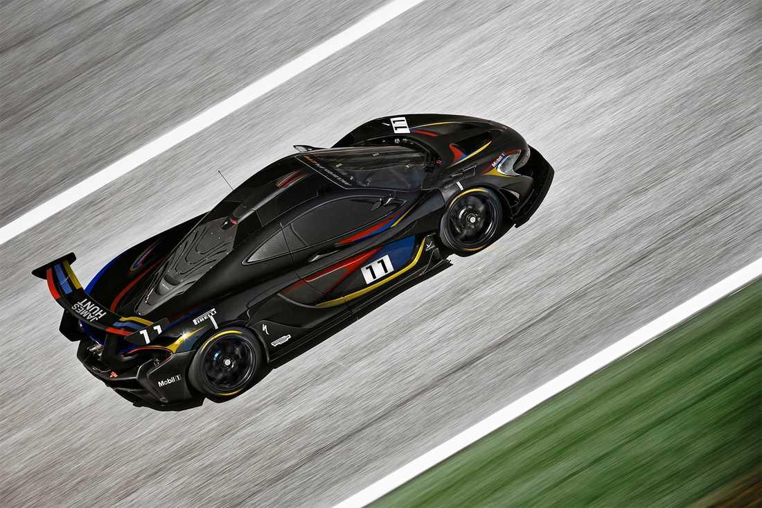 En McLaren P1 GTR.