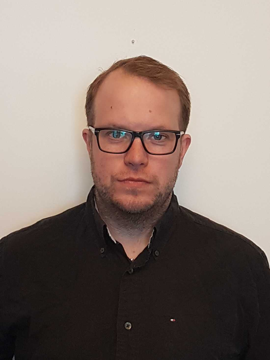 Johan Brosché, konfliktforskare.