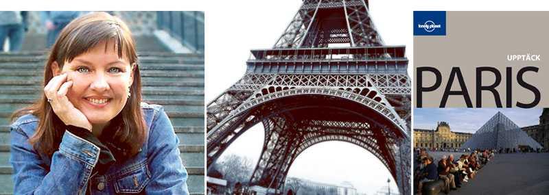 Författaren och komikern Anna-Lena Brundin är en av många svenskar som älskar Paris. Nu kommer Lonely Planets guidebok om Paris för första gången på svenska – tack vare ett unikt samarbete med Aftonbladet.