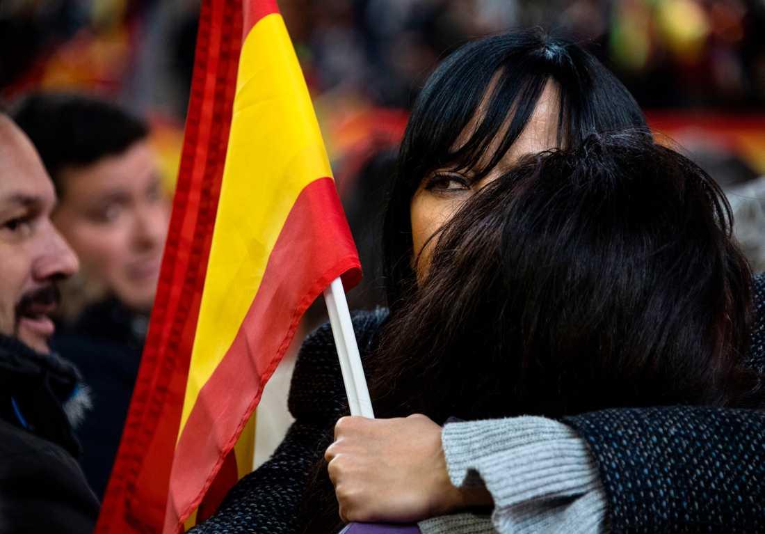 Valmöte i Madrid.