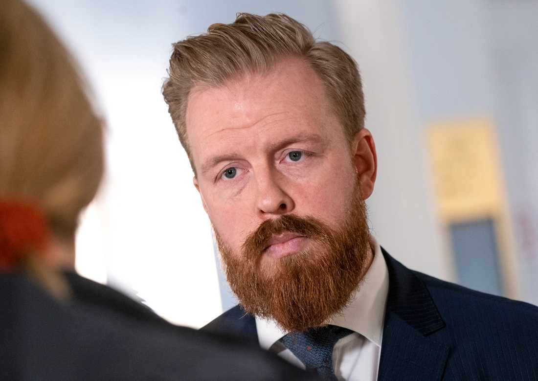 Det kommunala bolagets juridiska ombud Mathias Kågell-Landgren. Arkivbild.