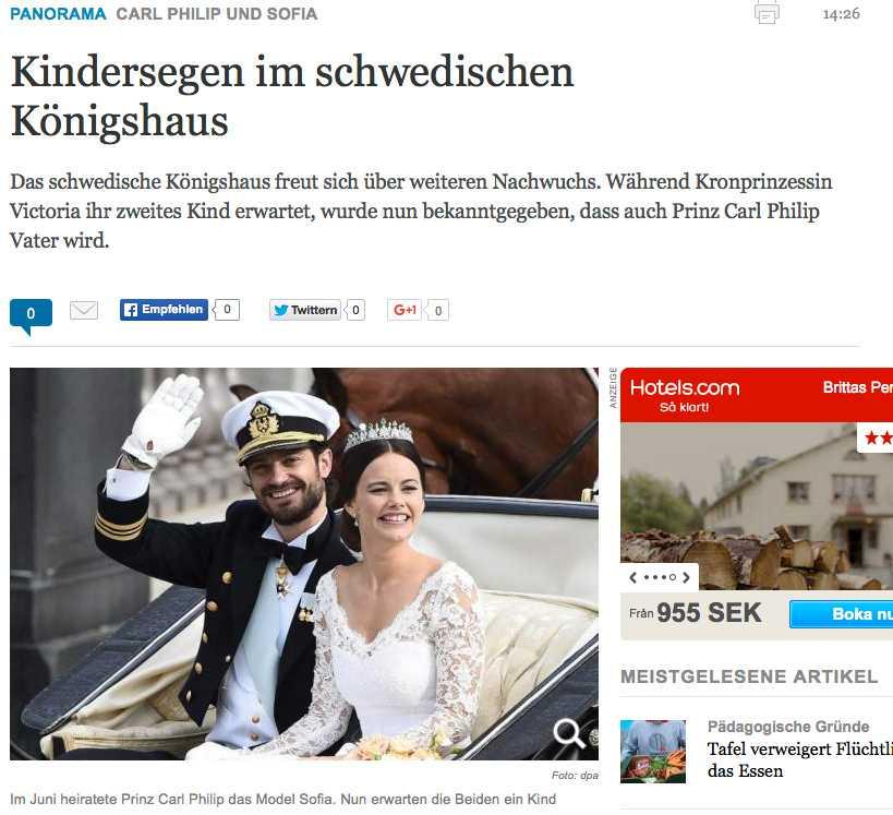 Die Welt, Tyskland