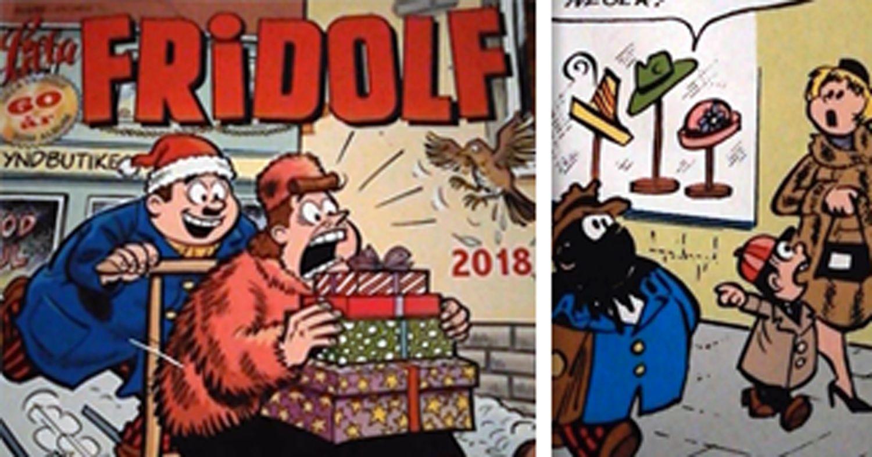 Lilla Fridolf-album med rasistiskt uttryck såldes med jultidningar