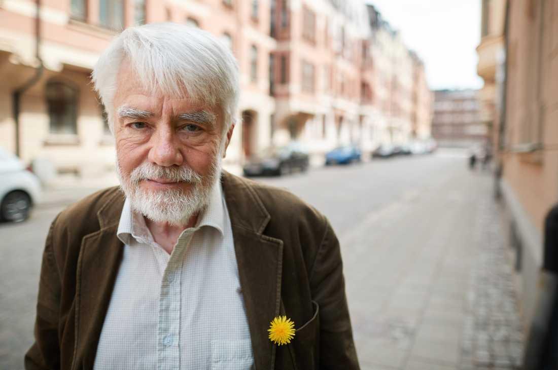 Per Gahrton, tidigare språkrör och en av Miljöpartiets grundare.