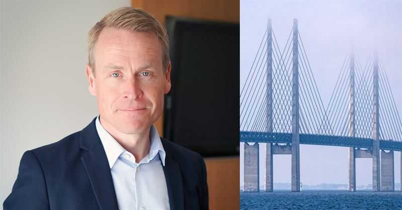 Linus Eriksson tar över vd-stolen på Öresundsbrokonsortiet.