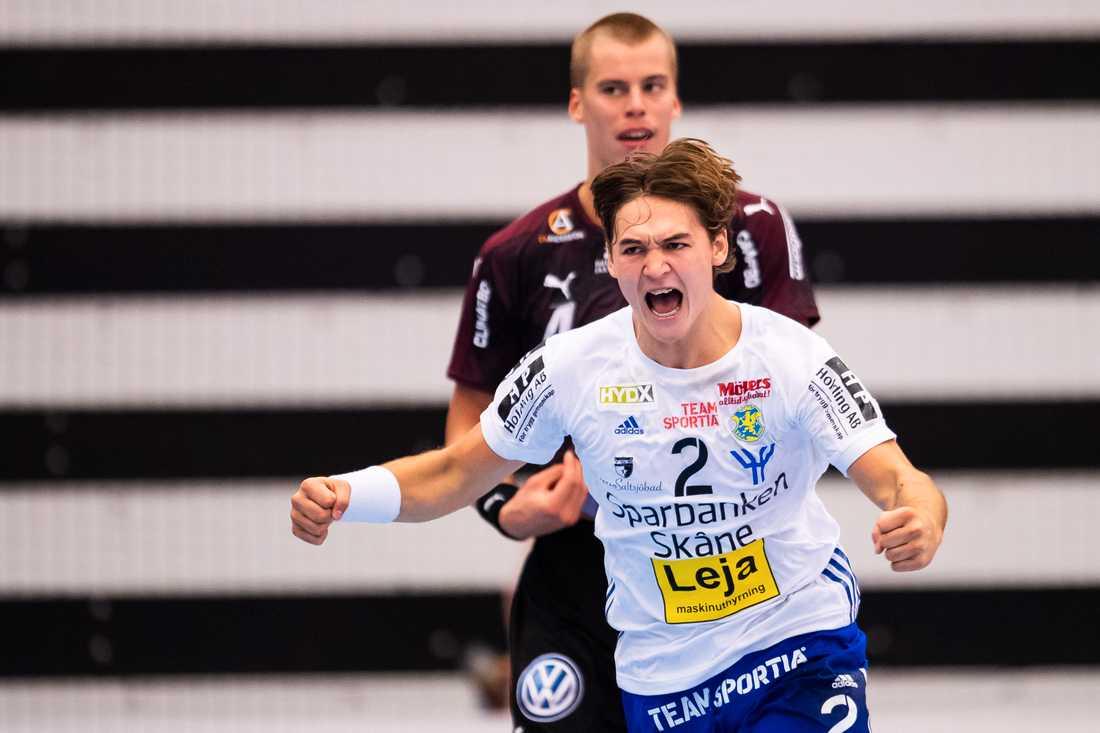 Ludvig Hallbäck i Ystads IF spås få sitt genombrott i år.