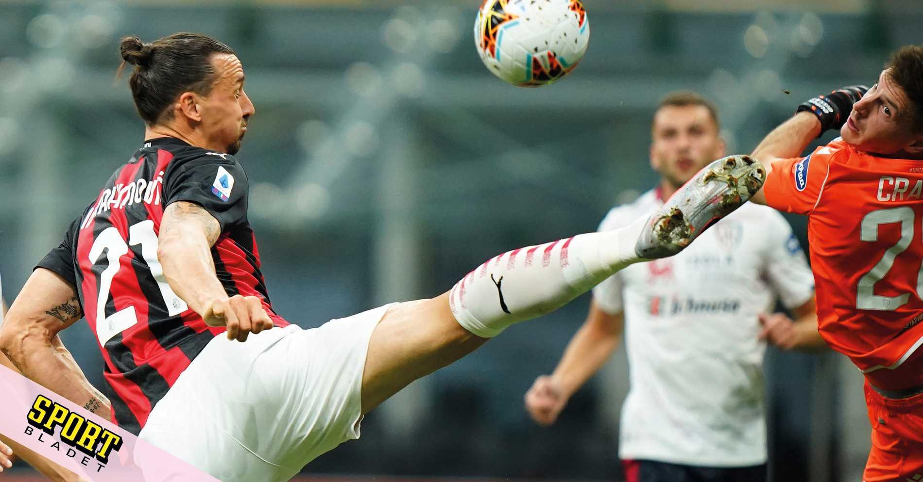 Beskedet om Zlatans framtid i Milan