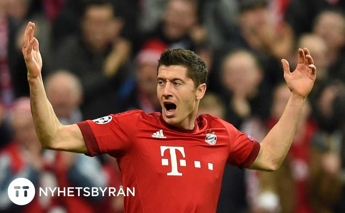Lewandowski gav Bayern ledningen.