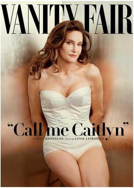 Caitlyn Jenner på omslaget till nya numret av Vanity Fair.