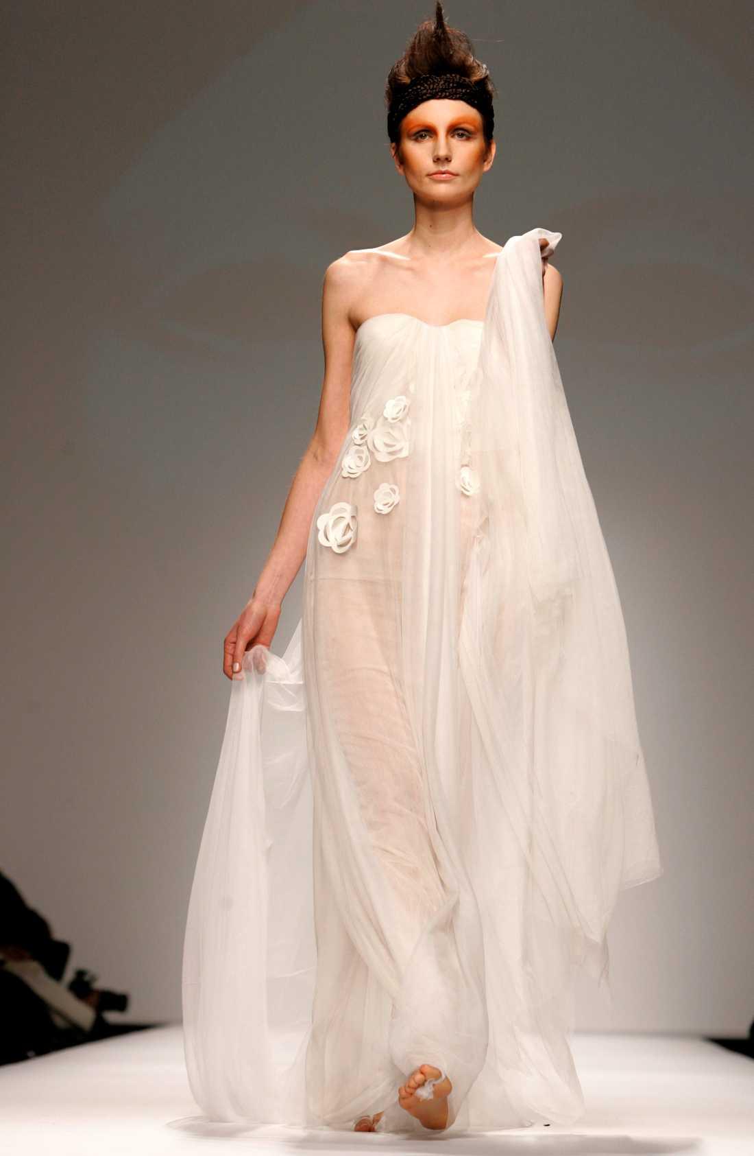 Inspirationsbild Brudklänning från Marella Ferrera. Foto: Ap