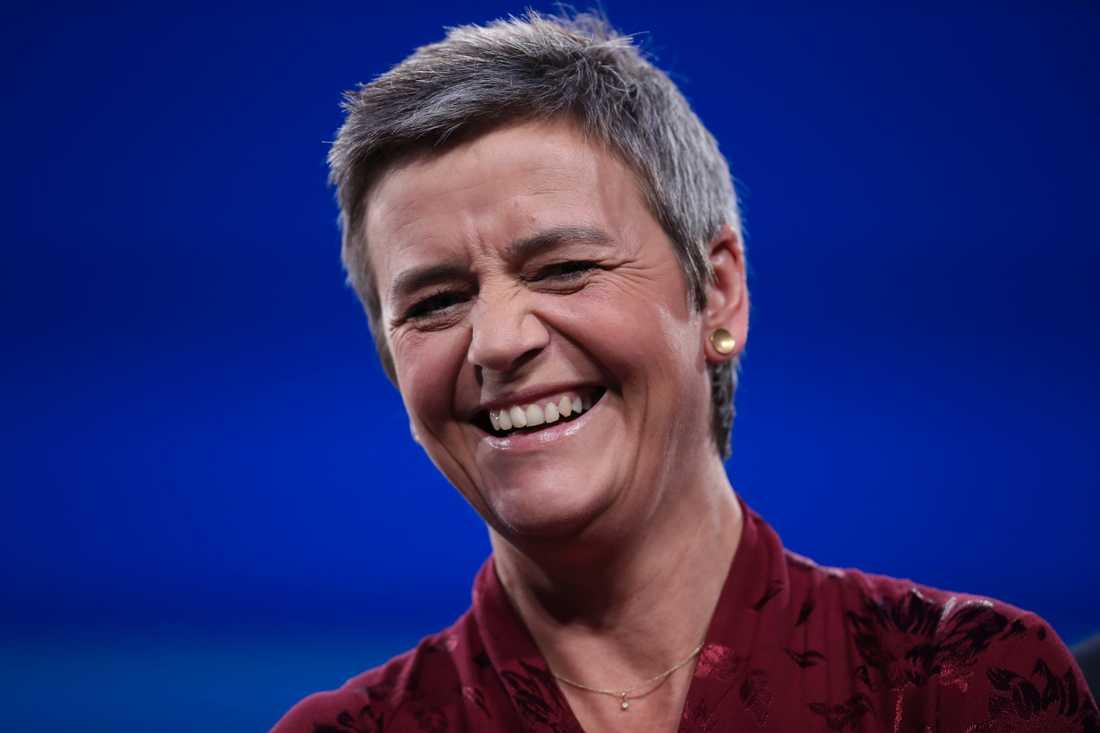 Margrethe Vestager är en av flera toppkandidater från liberala partigruppen Alde i EU-valet. Hon är tidigare finansminister och har de senaste åren varit populär konkurrenskommissionär i Bryssel. Arkivfoto.