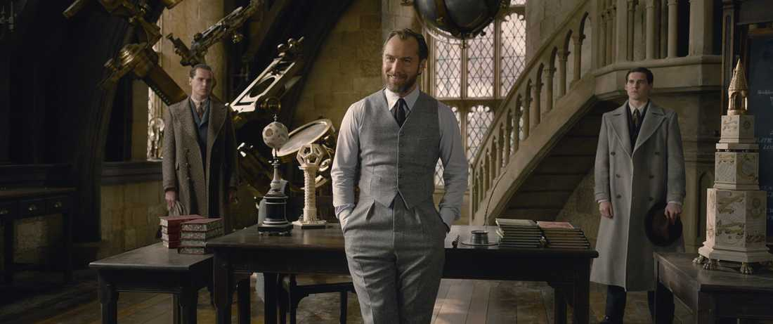 """Jude Law i """"Fantastiska vidunder: Grindelwalds brott""""."""