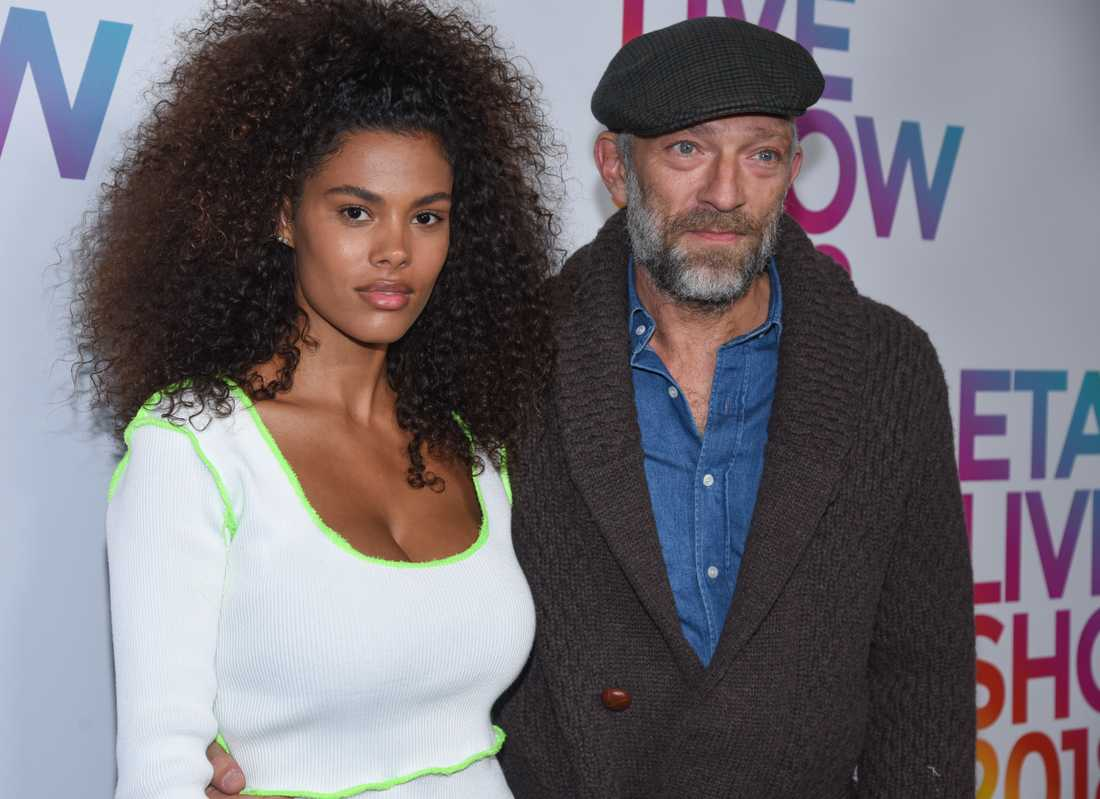 Vincent Cassel och Tina Kunakey.