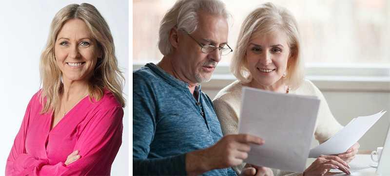 Sparekonomen Christina Sahlberg om jämställd pension.