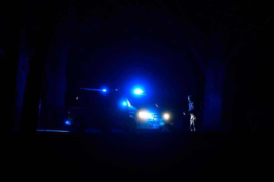 Polisen i Hagalund.