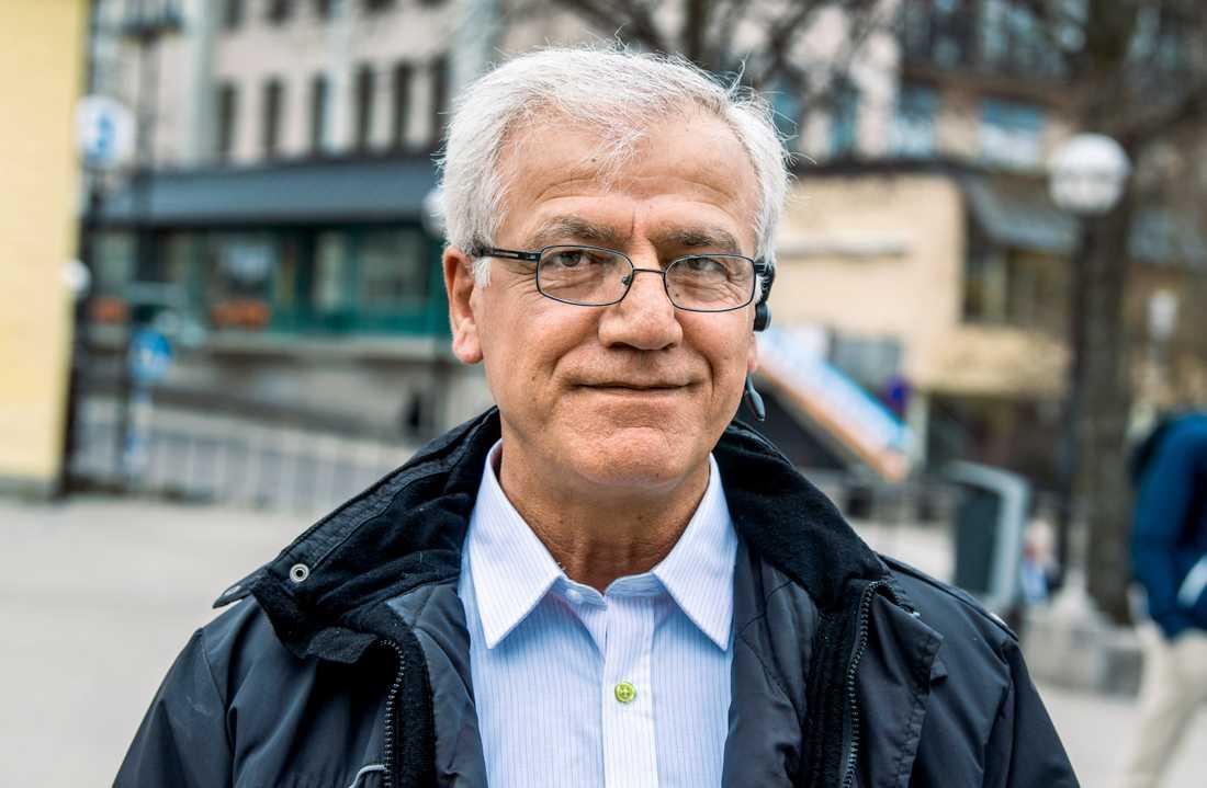 Besim Bozan, 56 år, tycker att migrationsfrågan är viktigast i EU-valet.