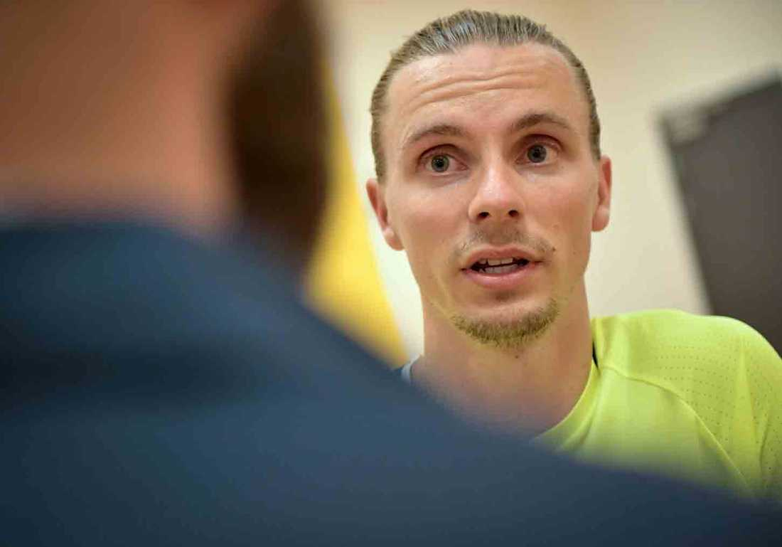 Niklas Hult vill lämna Panathinaikos.