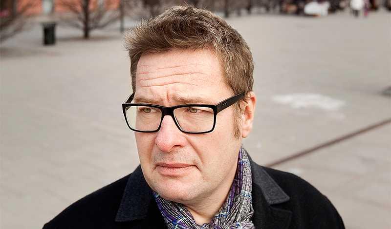"""Kristian Lundberg i Malmö, scenen för """"Yarden"""" och senaste boken """"En hemstad"""". Foto: Scanpix"""