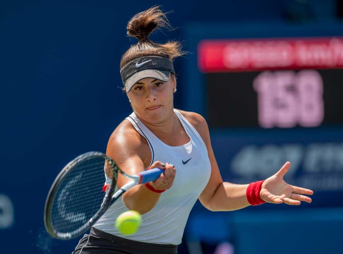 Bianca Andreescu är klar för final i Torontos WTA-tävling.