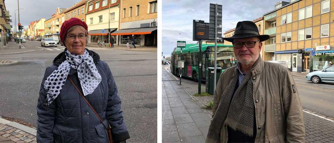 Agneta Fagerberg tycker att Limhamn ska fortsätta att vara en del av Malmö. Ulf Törnqvist  anser däremot att Limhamn borde bli en egen kommun.