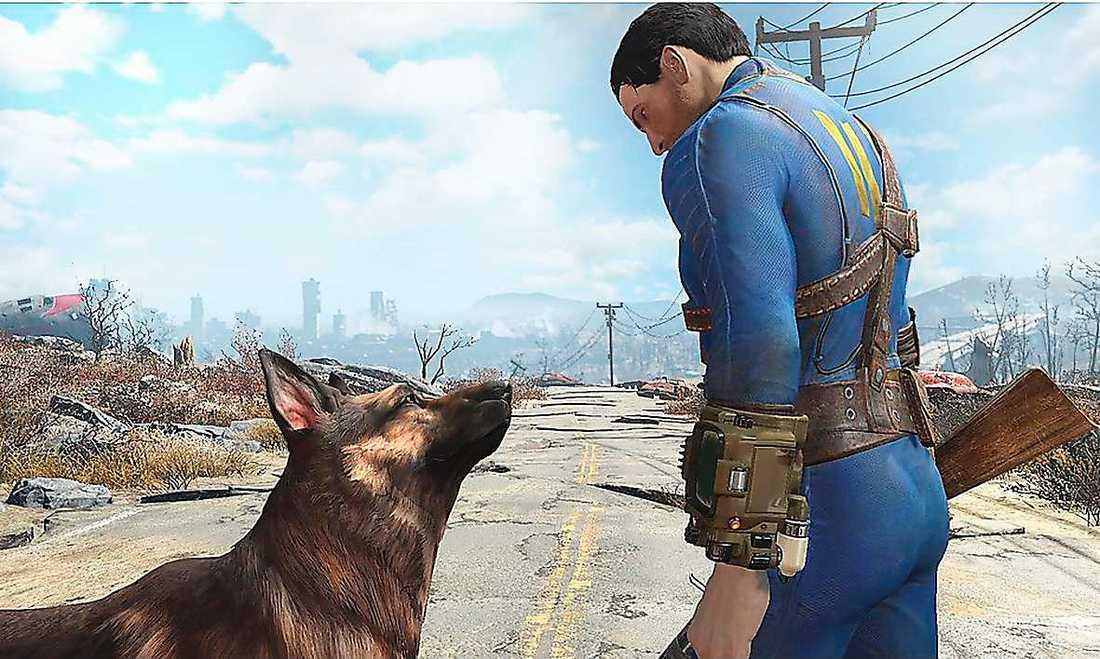 """slutet är bara början """"Fallout 4"""" är ett av spelen som utspelar sig i en postapokalyptisk värld."""