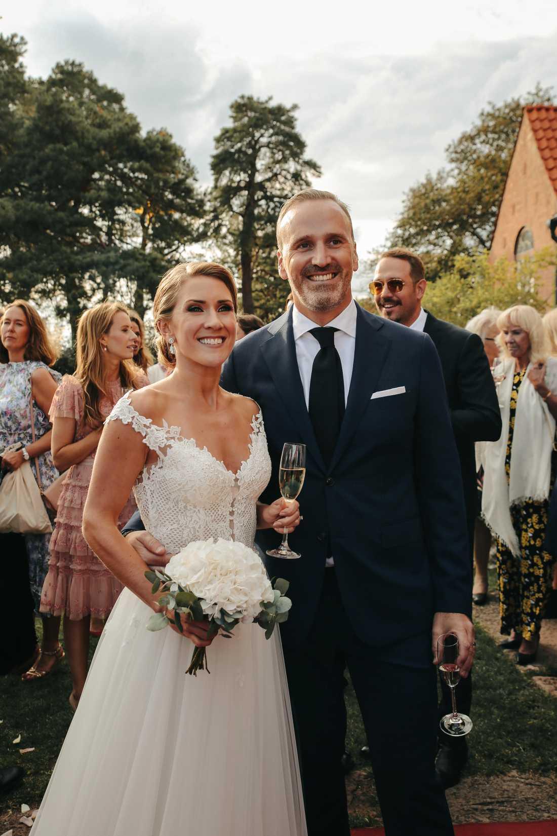 Jeanette Carlsson och Jörgen Gullbrandson har gift sig.