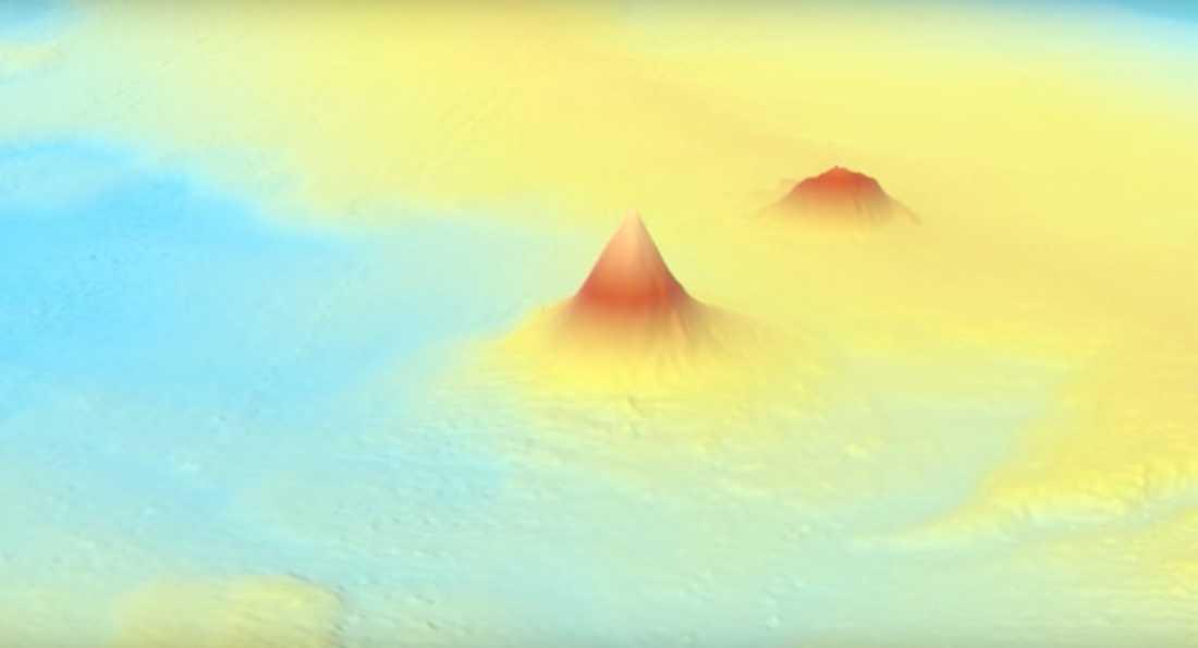 Tidigare okartlagd vulkan på havsbotten