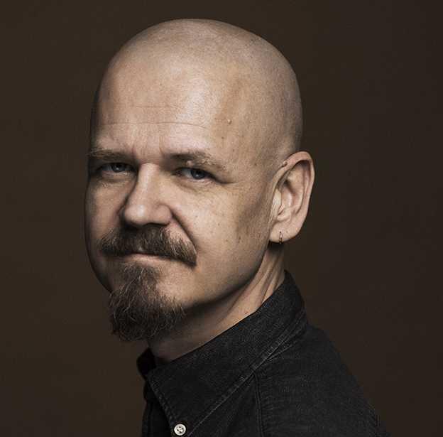 """Kim Leine, dansk-norsk författare, född 1961. För sin roman """"Profeterna vid Evighetsfjorden"""" fick han Nordiska rådets litteraturpris 2013."""