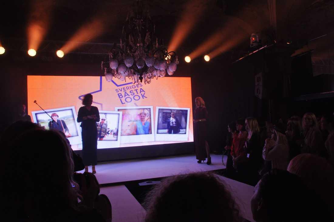 Dags att presentera Sveriges bästa look. Nina läser upp de nominerade...