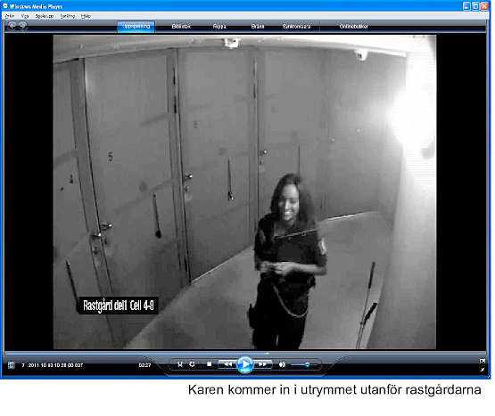 Karen Gebreab i häktet – strax innan hon attackerades.