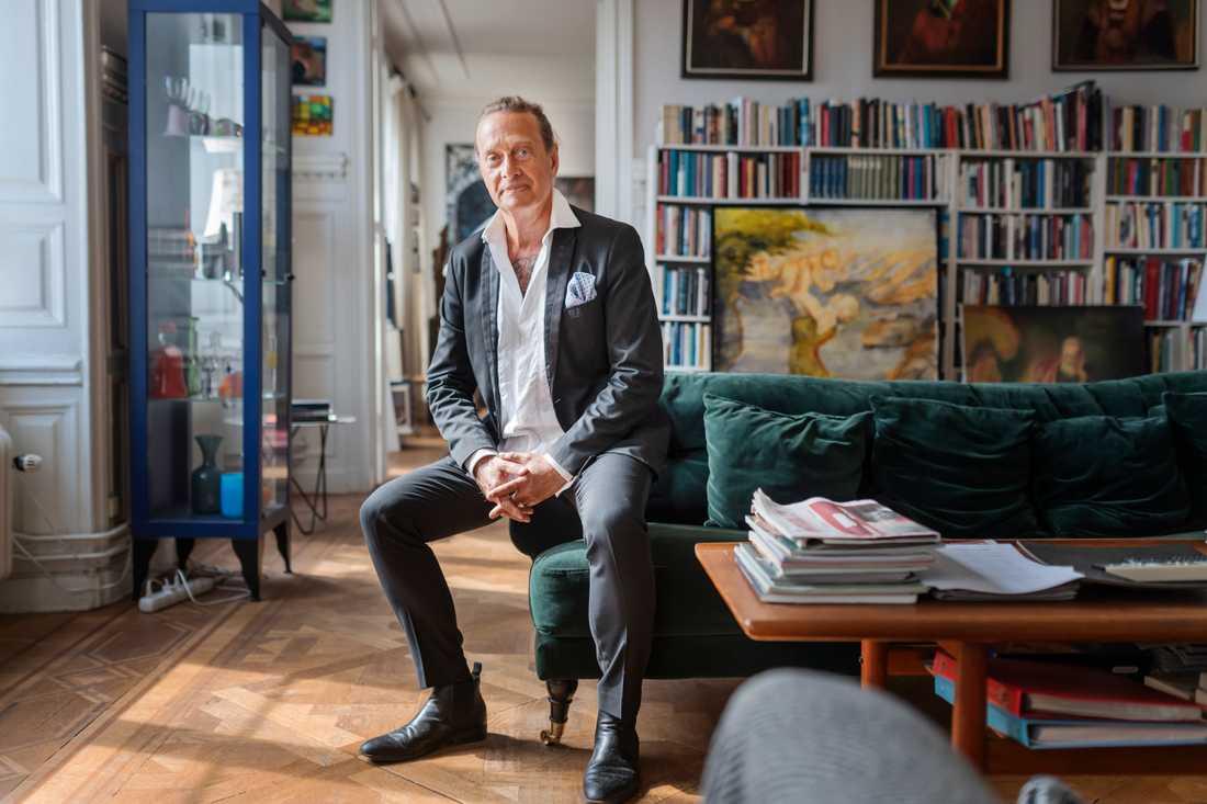 Författaren Björn Ranelid, en av kursplanekritikerna. Arkivbild.