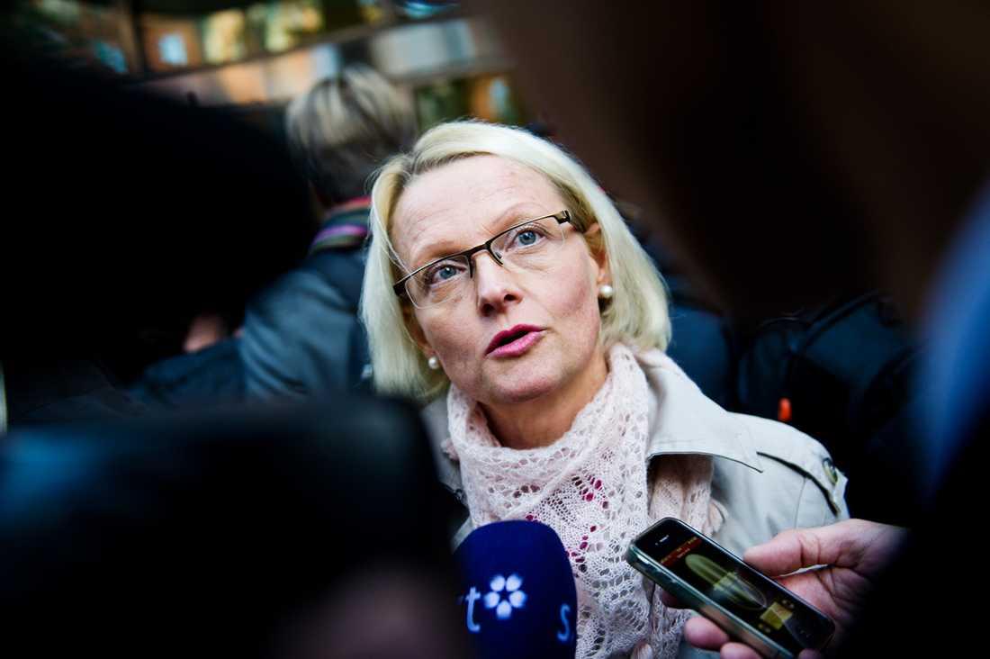 Heléne Fritzon, ledamot av Socialdemokraternas verkställande utskott från 2011 till 2013.