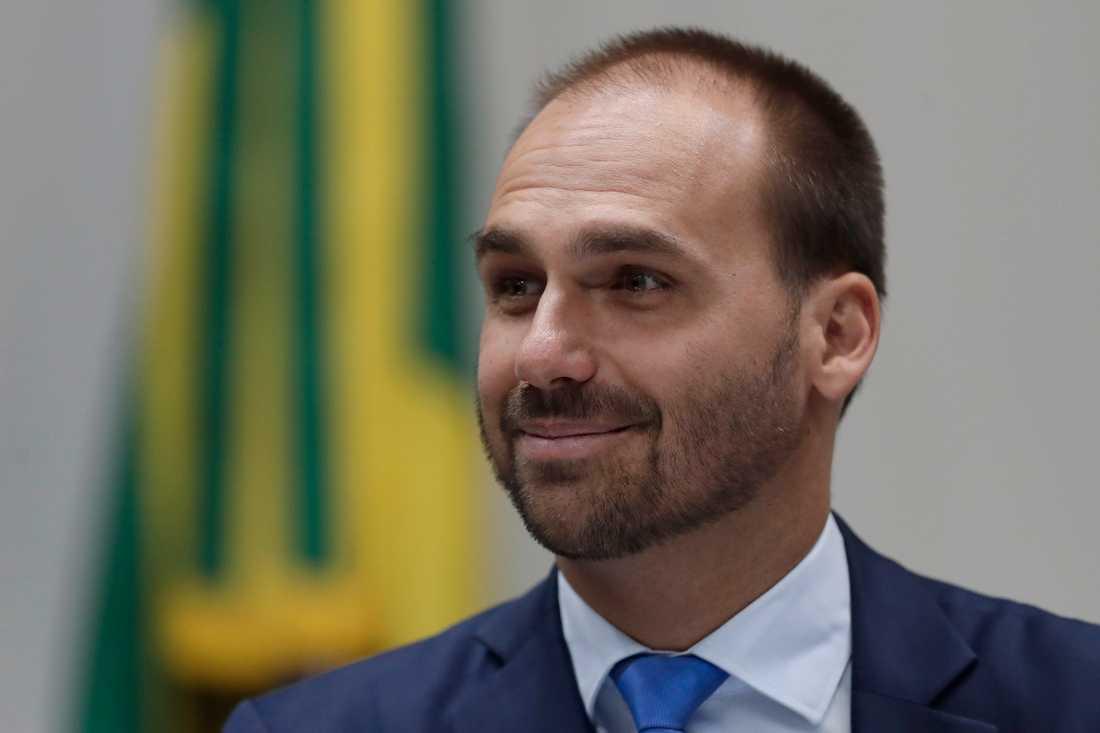 Eduardo Bolsonaro. Arkivbild.