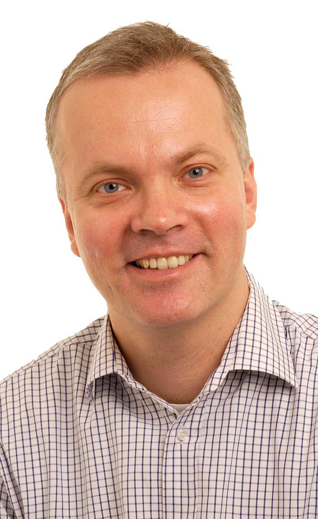 Temachef Svante Norgren.