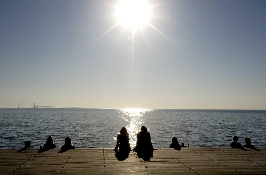 Sverige har det varmaste vädret i hela Europa just nu.