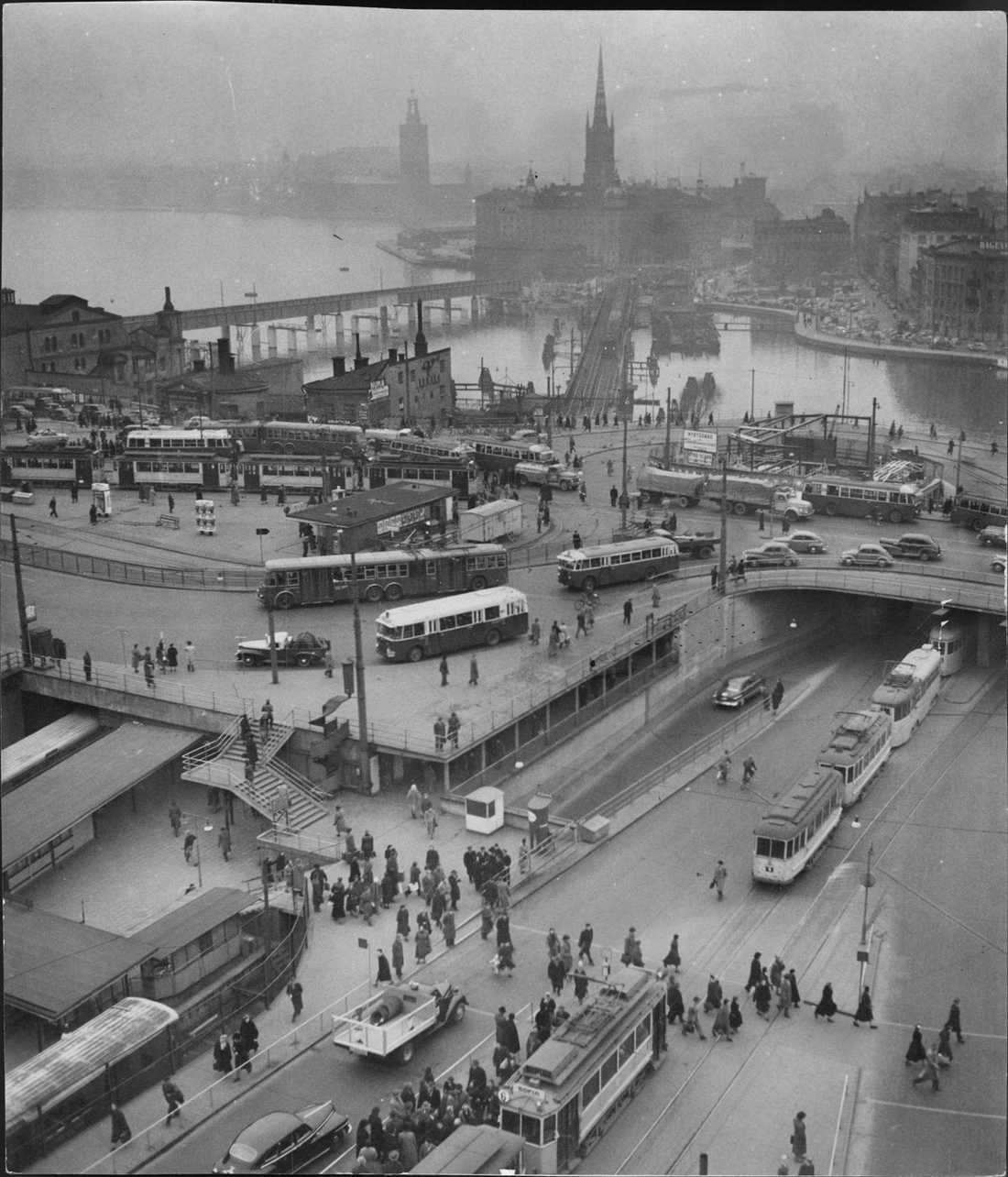 Slussen 1953