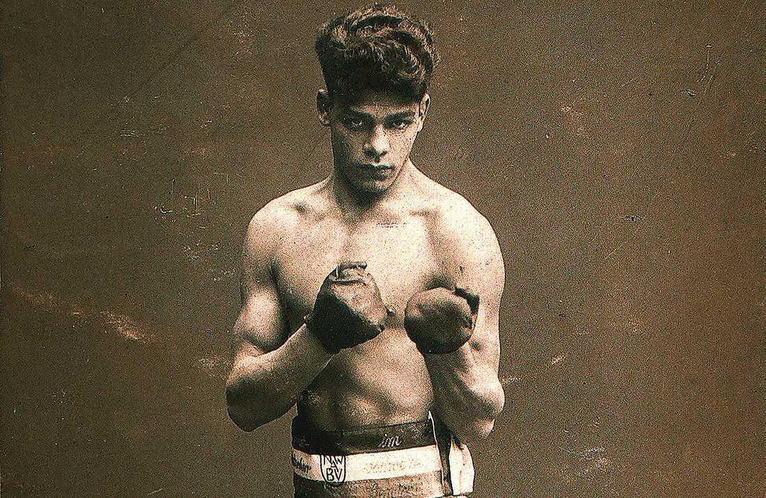 """Den romske boxaren Johann Trollmann fråntogs sin titel 1933 för att han boxades med ett """"otyskt kroppsspråk""""."""
