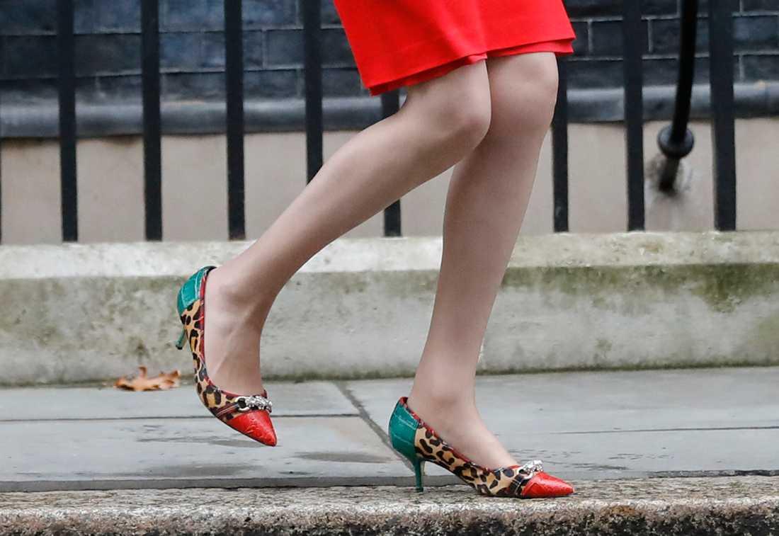 Storbritanniens premiärminister Theresa May är även känd för sin förkärlek för skor.