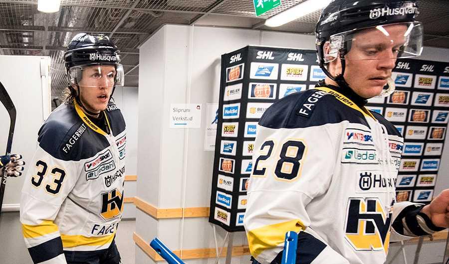 Niklas Hansson och Anton Bengtsson.