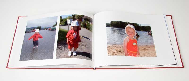 Fotobok. Obs! Boken på bilden har inget med texten att göra.