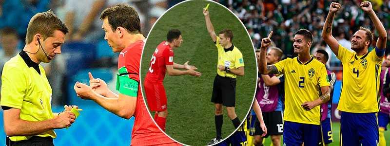 Lichtsteiner och Schär får syna det gula kortet - båda är avstängda mot Sverige.