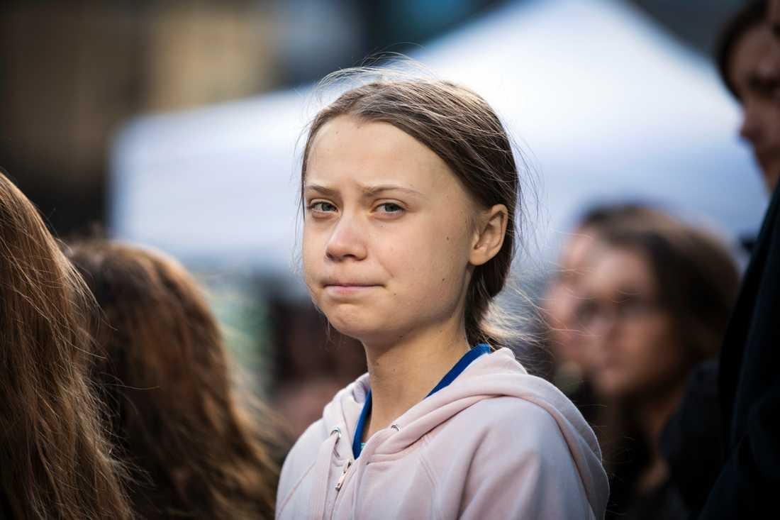 Greta Thunberg får Nordiska rådets klimatpris men tar inte emot det. Hon var nominerad av både Sverige och Norge. Arkivbild.