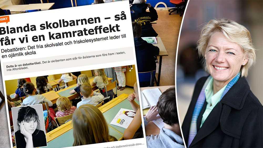 Forskning visar att det absolut viktigaste för en framgångsrik skola är att det finns ett tydligt ledarskap, duktiga lärare, systematiskt kvalitetsarbete och höga förväntningar på alla elever såväl som lärare, skriver Ulla Hamilton, Friskolornas riksförbund.
