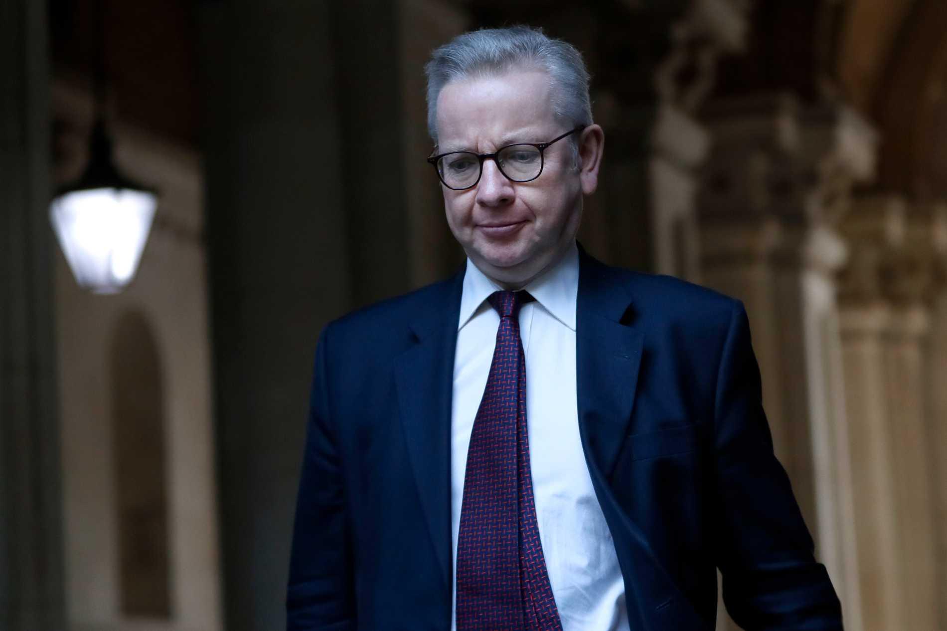 Boris Johnson kommer inte godkänna nytt självständighetsval före 2024, säger Michael Gove. Arkivbild.