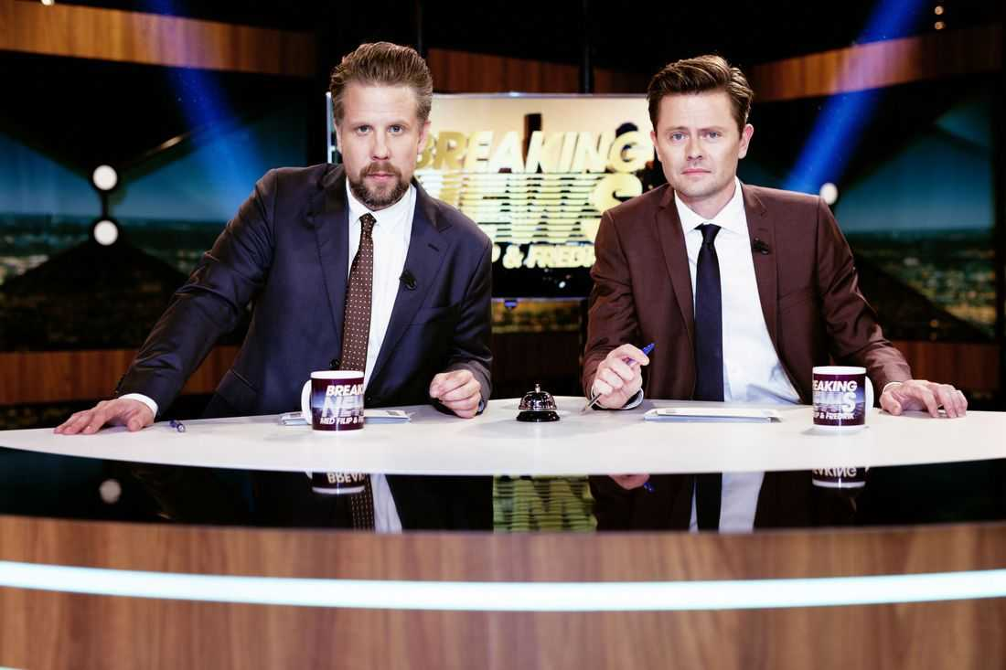 Breaking News med Filip och Fredrik.