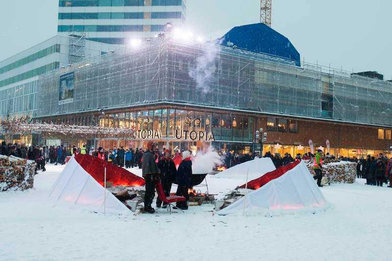 Nya shoppinggallerian Utopia i centrala Umeå har fått mycket kritik.