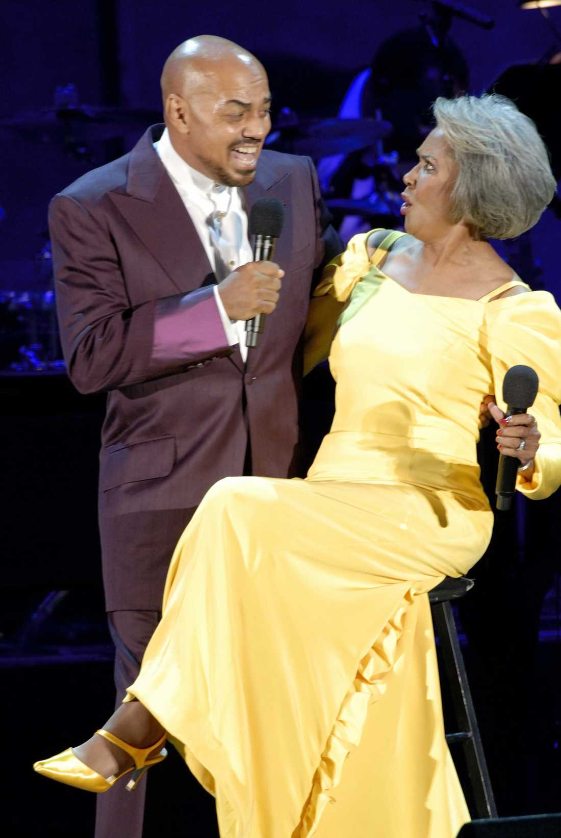 James Ingram och Nancy Wilson.
